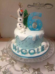 Frozen Cake Fab Cakes, Frozen Cake, Celebration Cakes, Custom Cakes, Spoon, Birthday Cake, Desserts, Shower Cakes, Personalized Cakes