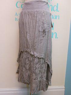 Summer+lagenlook | Plus Size Lagenlook Summer Gypsy Skirts