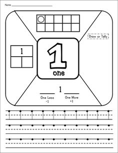Inspired by Kindergarten: Number Introduction Time! (Freebie alert!)