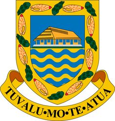 Coat of arms of Tuvalu.