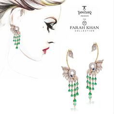 A Special day indeed today as we unveil our new collection this evening. Exotic new forms and striking silhouettes. There is something for every woman, every occasion, every mood. #TheFarahKhanCollection #TanishqxFarahKhan #tanishq