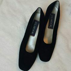 Black Shoes Velvety comfy shoes. J. G Hook  Shoes
