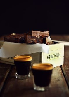Easy Chocolate and Coffee Fudge with Vanilla Salt