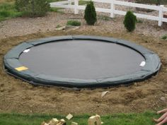 In ground trampoline how-to