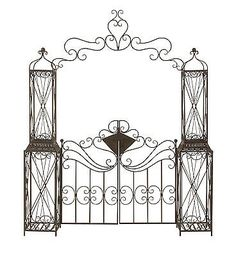 Garden Gates 139948: Alluring Metal Garden Gate  U003e BUY IT NOW ONLY: $344.37
