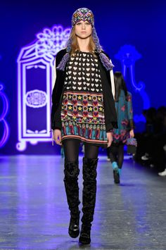 Anna Sui Fall 2016 Ready-to-Wear Collection Look 20