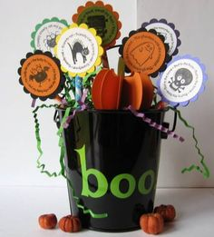 Halloween Center Piece by lhs43 - Cards and Paper Crafts at Splitcoaststampers