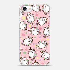 Casetify iPhone 7 Snap Case - Pinky Caticorn Cats by Mint Corner