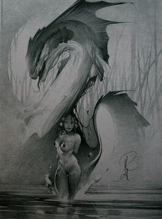 Alberto Varanda, Woman and Dragon