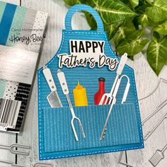 Paper Craft Supplies, Paper Crafts, Card Crafts, Set Honey, Grill Apron, Bbq Accessories, Honey Bee Stamps, Kiss The Cook, Pokemon