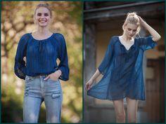 YAUVAN: Hochwertige Tuniken und Blusen aus Naturfasern