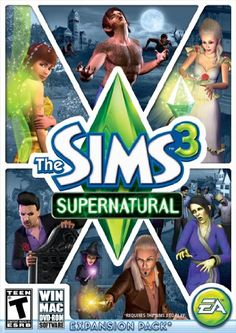 The Sims 3 Supernatural, also adds alot to the game. You can play as like vampires and werewolves.