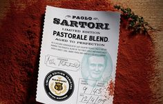 Sartori Cheese by CO Projects , via Behance Sartori Cheese, Cheese Brands, Country Picnic, Great Society, Aged To Perfection, Cursed Child Book, Brand Packaging, Typography, Branding