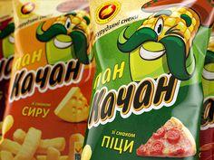 Product branding and packaging design for a range of corn snacks. Corn Snacks, Bird Food, Packaging Design, Product Branding, Snack Recipes, Chips, Design Agency, Range, Behance