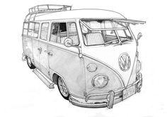 VW Camper van on Behance …