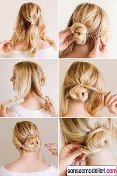 Hairstyle Tutorials Quickhairstyletutorialsforofficewomen33  Easy Hairstyles