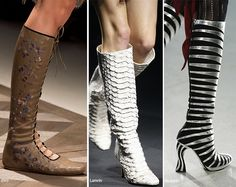 Spring/ Summer 2016 Shoe Trends: Boots  #shoes #trends #SS16