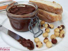 Crema de chocolate y avellanas Nutella, Pretzel Bites, Relleno, Chocolate Fondue, Bread, Desserts, Food, Vegetarian, Breakfast