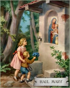 """""""However great a sinner may have been, if he shows himself devout to Mary, he will never perish."""" ✝ (St. Hilary)  #Catholic #MyCatholicFaith #Saints #Quotes"""