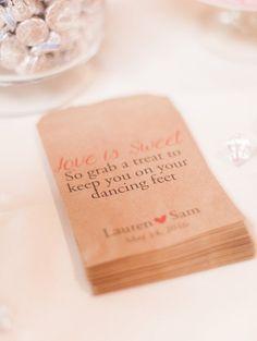 Featured photographer: Sposto Photography; wedding favor idea