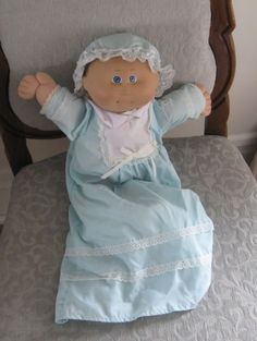 This is the one I had....still have. Except she's missing her bonnet. #Cabbage Patch Kids