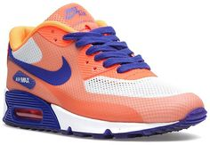 online store 09046 b2386 Nike Air Max 90 Hyperfuse Premium W Schoenen Orange Beige Blauw,Fashion  sneakers color and style must be of your interest.