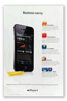 iPhone 4 magazine ad