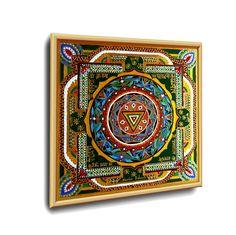 #MAHA_KALI YANTRA #ENERGETISCHE_Kunst von #Art_Heil_Studio #Dr_Mariia_Bohach (#MariRich) #kunst #malerei #regenbogen #jubilaum #muttertag #mandala #yantra #geschenk #geburtstag #meditation #art_therapie Kali Yantra, Meditation, Etsy, Vintage, Cards, Studio, Art Therapy, Kunst, Mother's Day