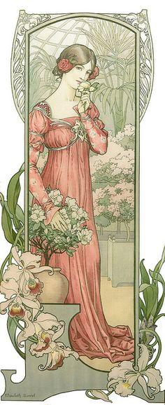 """Elisabeth Sonrel (1874-1953), """"Fleur des Serre"""", via Flickr."""