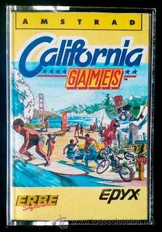 Juego Amstrad CPC Cinta - California Games (1987) Español Erbe