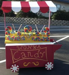 WILLIE WONKA CANDY MAN CART | Willy Wonka Junior: Your Ticket Purchases |