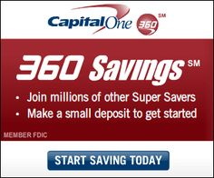 Capital One 360 Bonuses & Promos For Mommy, Daddy, Kiddo, And More!