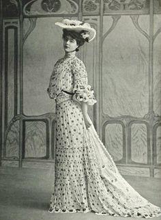 Robe de garden party par Panem, 1903
