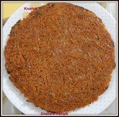 Knafeh ~ Sneha's Recipe