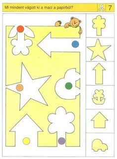 Logic Games For Kids, Educational Games For Kids, Kids Learning, Montessori Activities, Preschool Activities, Kindergarten Math, Teaching Math, Nursing Printables, Visual Perception Activities