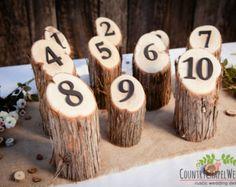 51 Creative DIY Wedding Table Number Ideas   Pinterest   Table ...