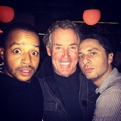 "And this past weekend Zacald reunited with non-one other than Dr. Cox himself, John C. McGinley. | There Was A Bromantic Mini-""#Scrubs"" Reunion"