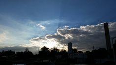 Sky #blue #nuvol #cloud #méxico