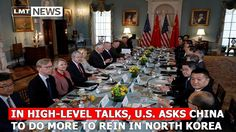 In high-level talks, U.S. asks China to do more to rein in North Korea L...