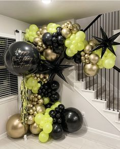 Balloon Decorations Without Helium, Disco Party Decorations, Birthday Balloon Decorations, Halloween Party Decor, Birthday Balloons, Balloon Stands, Balloon Display, Balloon Backdrop, Balloon Garland