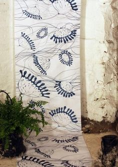 N.B. Tactile Wonderland wall coverings at 100 percent design in London via remodelista