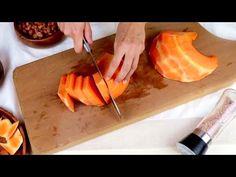 La zucca diventa più buona della carne (3 RICETTE)! #417 - YouTube Vegetable Recipes, Vegetarian Recipes, Cooking Recipes, Apple Recipes, Pumpkin Recipes, Baked Vegetables, Veggie Side Dishes, No Cook Desserts, Saveur