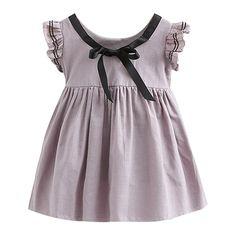 18164e29348 Amazon.com  Mud Kingdom Butterfly Sleeve Preppy Girls  Dresses  Clothing