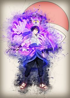 Sasuke Susanoo Sasuke Susanoo Gallery quality print on thick / metal plate. Each Displate print verified by the Production Master. Signature and hologram added to the back of each plate for added authenticity Naruto And Sasuke, Anime Naruto, Sasuke Susanoo, Boruto, Naruto Team 7, Kakashi, Naruto Uzumaki, Naruhina, Ghibli
