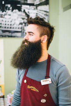 beard profile stunner beards bearded man men dark full thick puffy