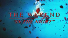 "THE WEEKND- ""In The Night"""