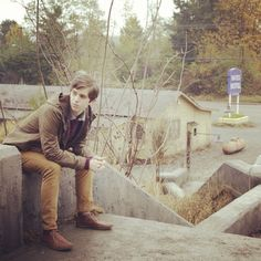 """My son """"hangin out."""" #bates #motel"""