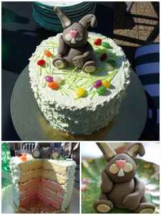 Easter Cake 🐰   March 2016 Easter Cake, March, Cakes, Baking, Desserts, Food, Pies, Bread Making, Meal