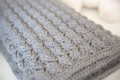 Cozy and Free Baby Blanket Crochet Pattern