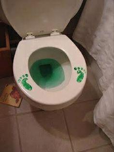 Irish feet toilet
